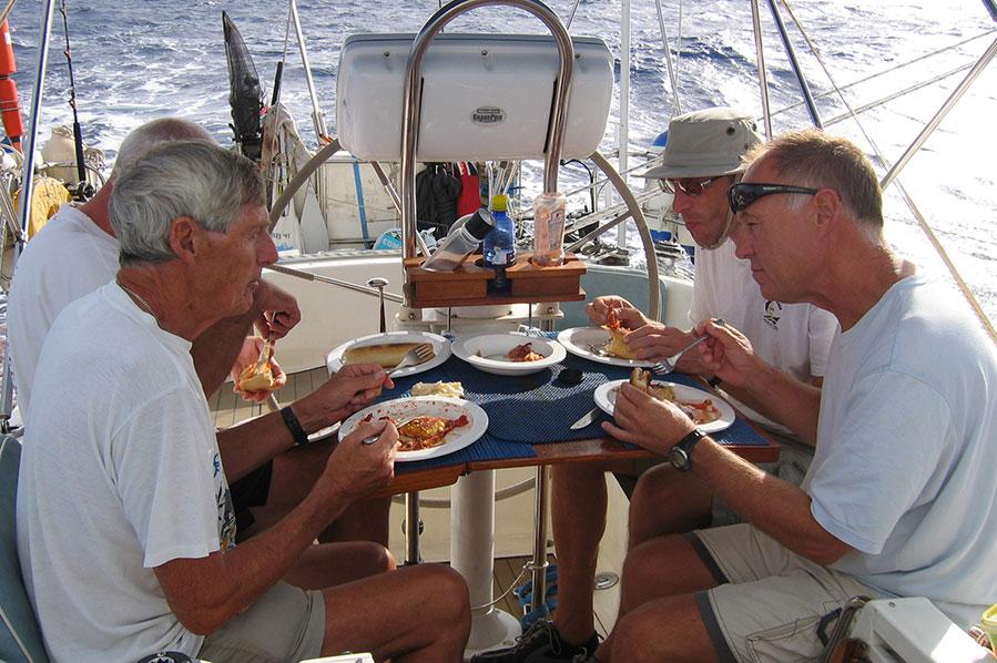 Meals at sea