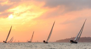 Round the Island Race Sunrise