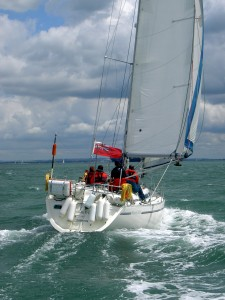 Learning to Sail with First Class Sailing, UK