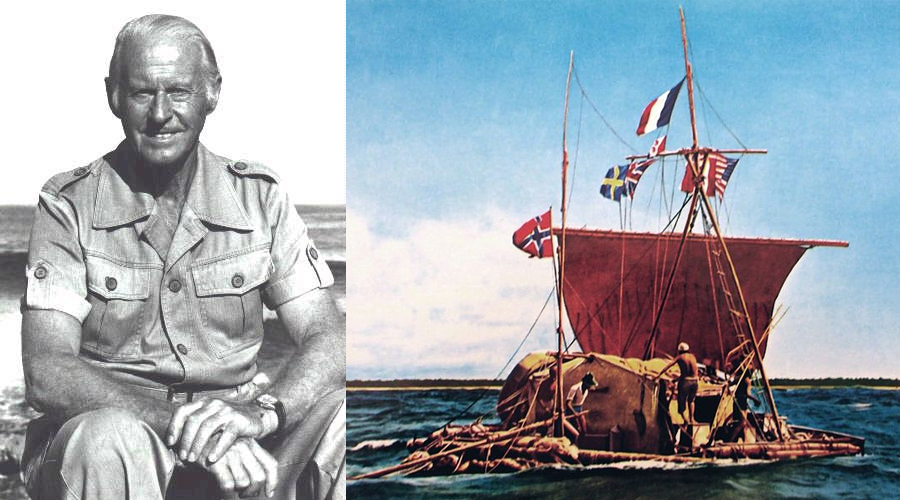 Celebrating 70th Anniversary of Thor Heyerdahl's' Kon-Tiki Expedition