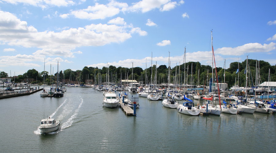 Much of Howards' Way was filmed on the south coast especially on the River Hamble