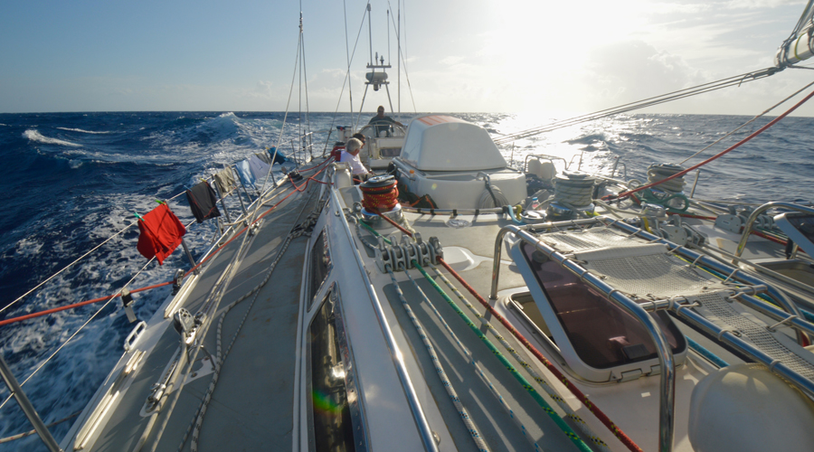 So what is it like to sail across the Bay of Biscay or even the Atlantic?
