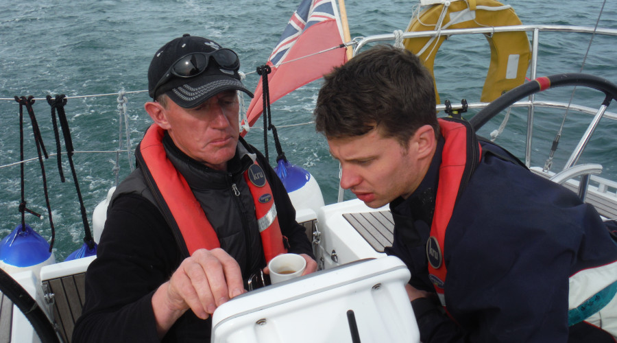 Chart plotter work has become part of the RYA syllabus