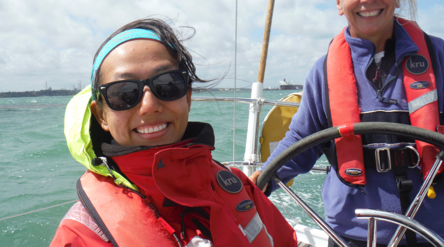 Although RYA courses are about learning - often in tight corners - yet there is plenty of time to enjoy yourself