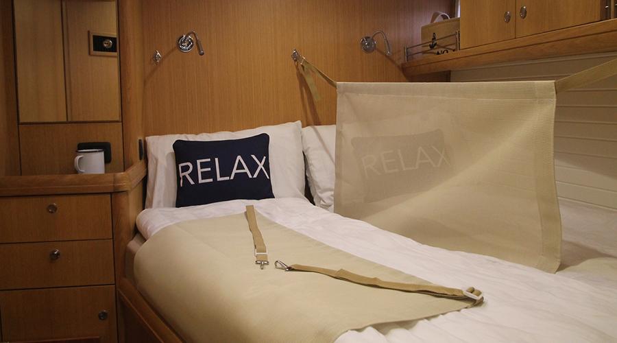 En-suite double cabin is part of being a Guest Crew