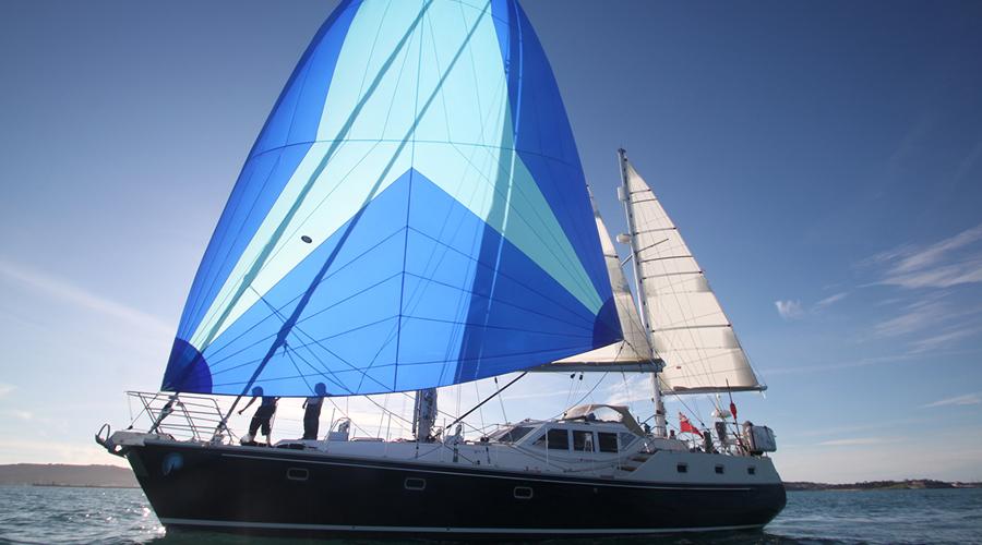 the luxury yacht Santosa