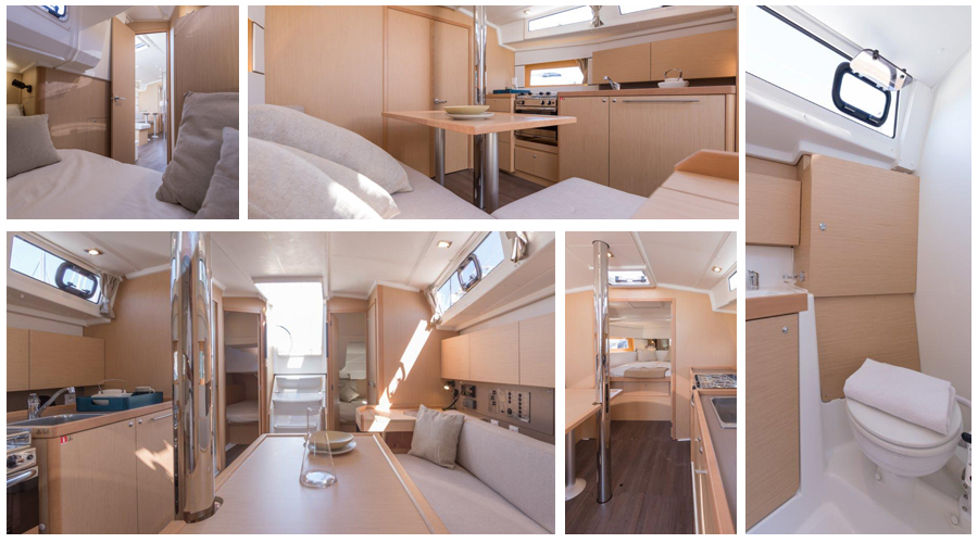About the Beneteau Oceanis 38.1