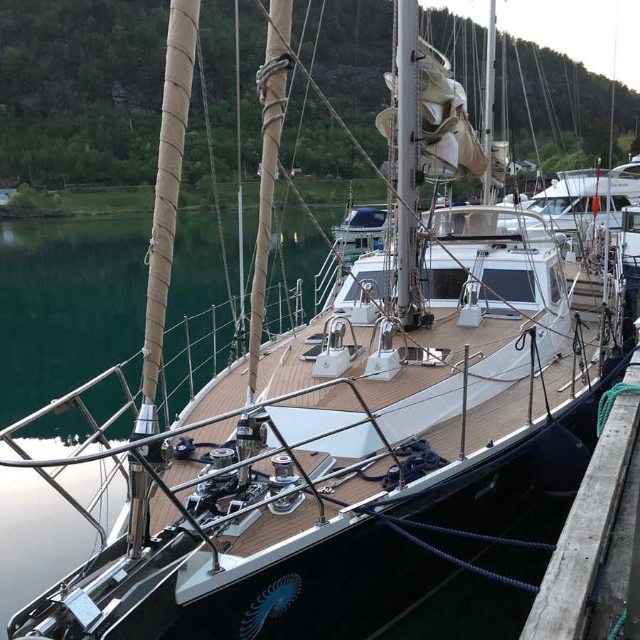 Bergen to Trondheim by luxury yacht