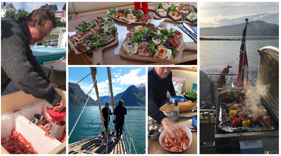 Santosa's Cook's Blog: Prawns, Fresh Off The Boat… And Other Norwegian Delights
