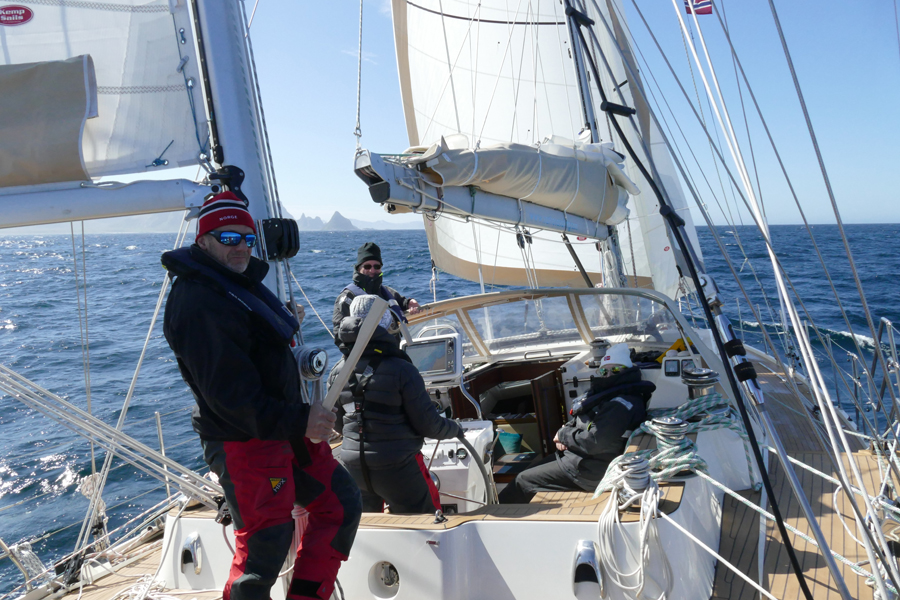 Arctic Sailing On Luxury Yacht Santosa And Mother Nature On Display