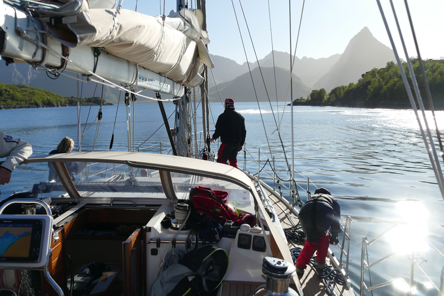 Lovely Long Nordic Days On The Luxury Yacht Santosa