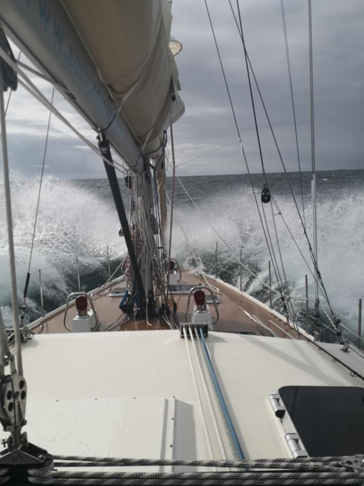 A lively sea