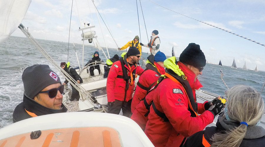 Skipper's Eye View Of The Rolex Fastnet Race