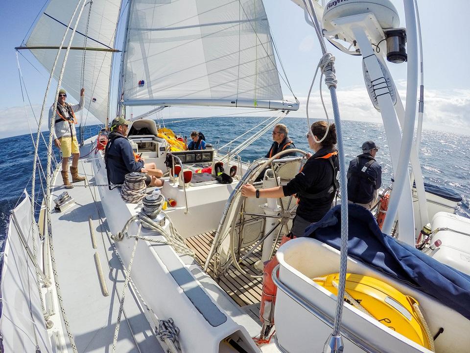Down Wind Sailing