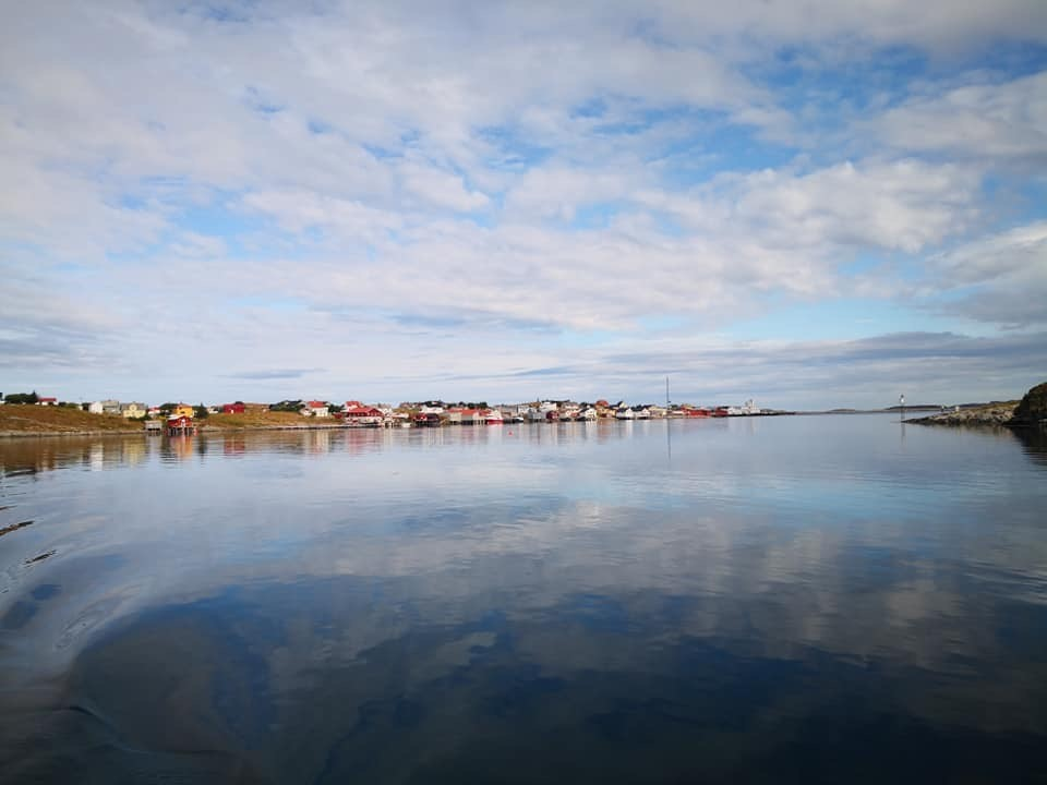 Beautiful Morning Sky in Norway