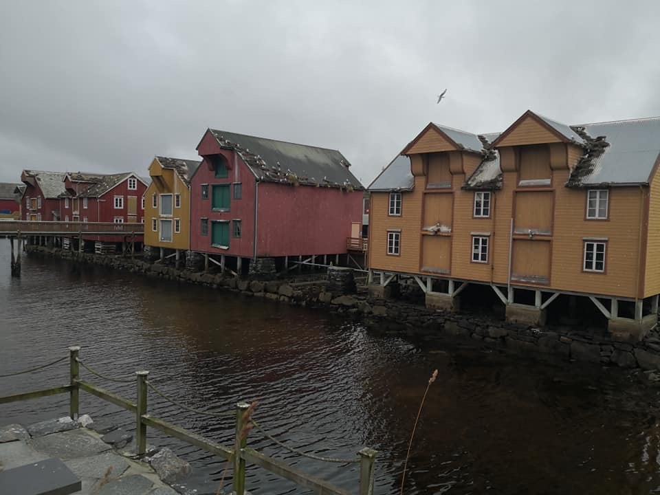 Old warehouses in Central Rorvik