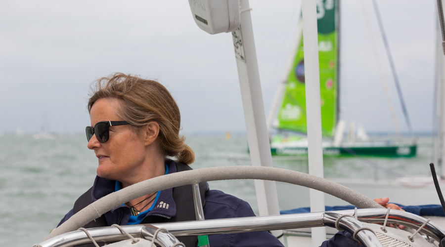 Crew's Eye View Of The Rolex Fastnet Race by Peter Byrne