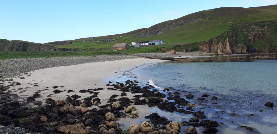 Santosa in Shetland