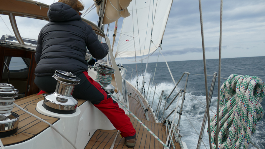 Santosa's Shetland Voyage From Norway Gets A Little Roly